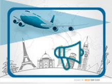 imagen genérica de las convocatorias del sector: elementos de viaje y magáfono