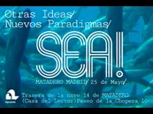 cartel del evento sobre fondo de agua