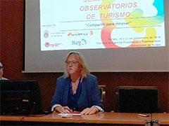 Mercedes Carreño durante su intervención