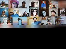pantallazo de parte de los asistentes