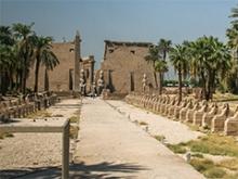Avenida de las esfinges. Karnak