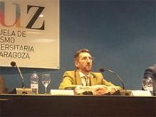 Javier Aragón clausura el acto