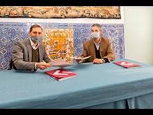 Héctor Coronel y Santiago Aguilar muestran su acuerdo