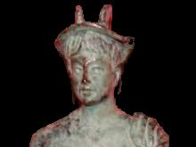 Busto de la estatuilla símbolo del premio