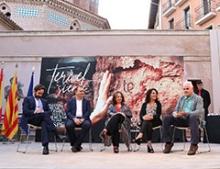 Los expertos que departiewron sobre Turismo Sostenible en Teruel